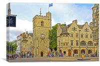 Carfax Tower, Canvas Print