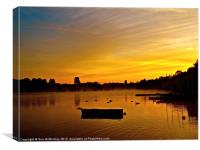Sunrise Rickmansworth (3), Canvas Print