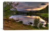 Rydal View, Canvas Print