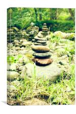 Stacked Stones, Canvas Print
