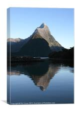 Milford sound New Zealand, Canvas Print