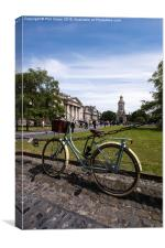Student bicycle, Canvas Print