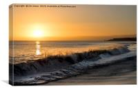 First dawn of a New Year, Canvas Print