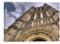 The Houses of Parliment, Canvas Print