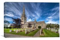 St.Margaret's Church, Canvas Print