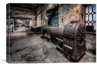 Old Boiler, Canvas Print