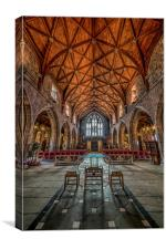 British Cathedral, Canvas Print