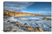 Anglesey Seascape, Canvas Print
