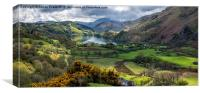 Nant Gwynant Valley, Canvas Print