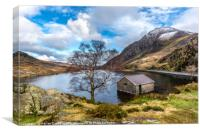 Ogwen Lake, Canvas Print