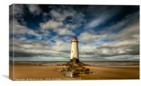 Lighthouse Point of Ayre, Canvas Print