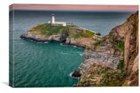 South Stack Lighthouse Anglesey, Canvas Print