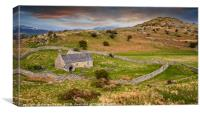 St Celynnin Church Wales, Canvas Print