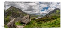 Welsh Mountains of Snowdonia, Canvas Print