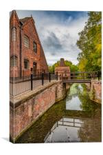 China Works Coalport , Canvas Print