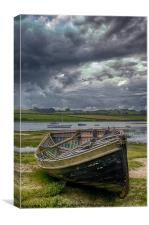 Calm Before The Storm, Canvas Print