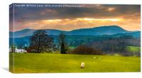 Lake District Sunny Interval, Canvas Print