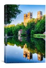 Durham Cathedral - HDR 01, Canvas Print