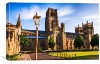 Durham Cathedral - HDR 02, Canvas Print