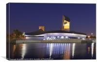 The Imperial War Museum North, Canvas Print