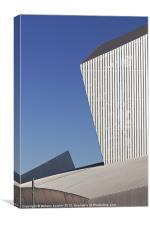 Imperial War Museum North, Canvas Print