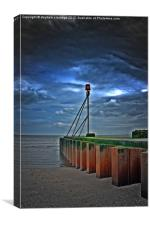 Chapel point outflow, Canvas Print