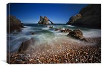 Bow Fiddle Rock Seascape, Canvas Print