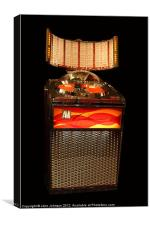 AMi Jukebox Model Continental 2 - 1962, Canvas Print