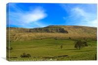 Mallerstang Dale, Canvas Print