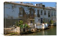 Tavira, Portugal, Canvas Print