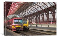Antwerp Central Station I, Canvas Print