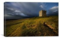 Rivington pike after the storm, Canvas Print