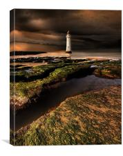 New Brighton lighthouse, Canvas Print