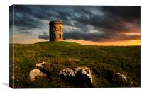 Solomons temple, Canvas Print