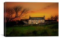 Country life on Hadrian s wall, Canvas Print