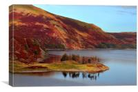 Haweswater in autumn, Canvas Print