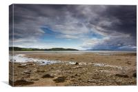 Opening at Ettrick bay, Canvas Print