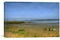 River Orwell, Canvas Print