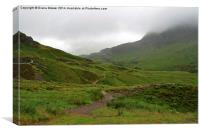 Glencoe Scotland                            , Canvas Print