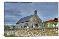 Great Orme Church, Canvas Print