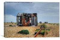 Dungeness , Canvas Print