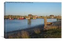 Rye Harbour , Canvas Print