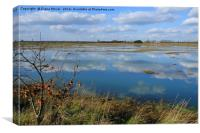 Tollesbury Marshes Essex, Canvas Print