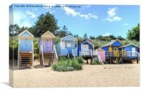 Wells next the sea Norfolk, Canvas Print
