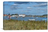 River Deben Suffolk, Canvas Print