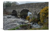 Postbridge, Dartmoor, Devon, Canvas Print