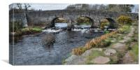 Postbridge, Dartmoor, Canvas Print