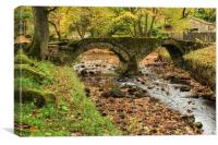 Wycoller in Bronte country , Canvas Print