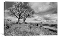 Top Withens Haworth, Canvas Print