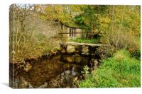 Malham Smithy bridge, Canvas Print